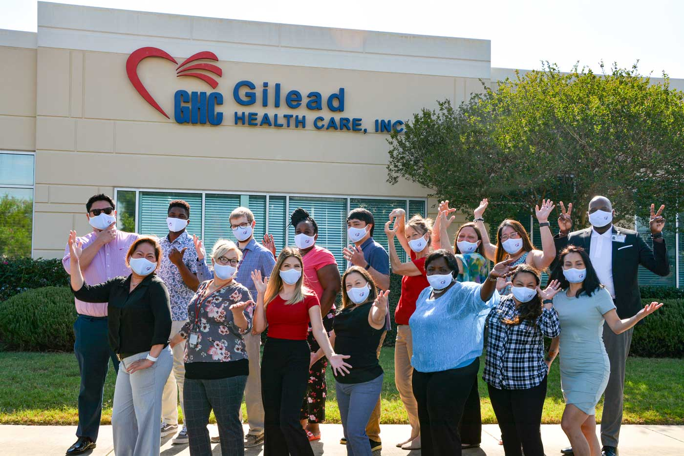 Gilead Health Care Team